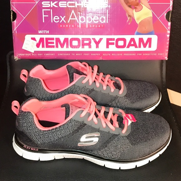 6d2298215533e Skechers Shoes | New Memory Foam Sneakers Mismate 9 95 | Poshmark